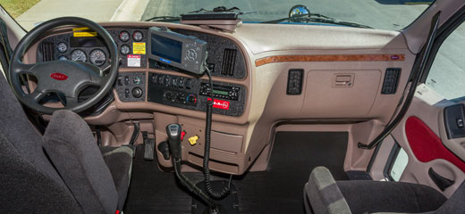 Stevens transport with best picture collections for Stevens transport trucks interior