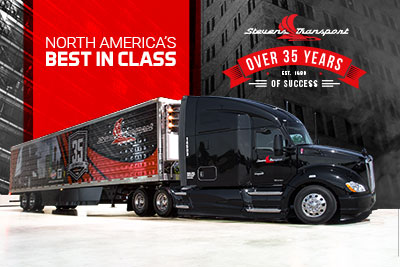 STEVENS TRANSPORT IS NORTH AMERICA'S BEST IN CLASS