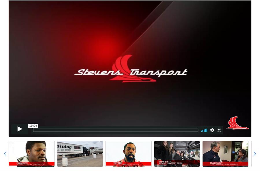 Videos from Stevens Transport.