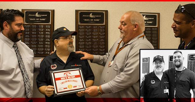 Driver Receives Safe Driving Award