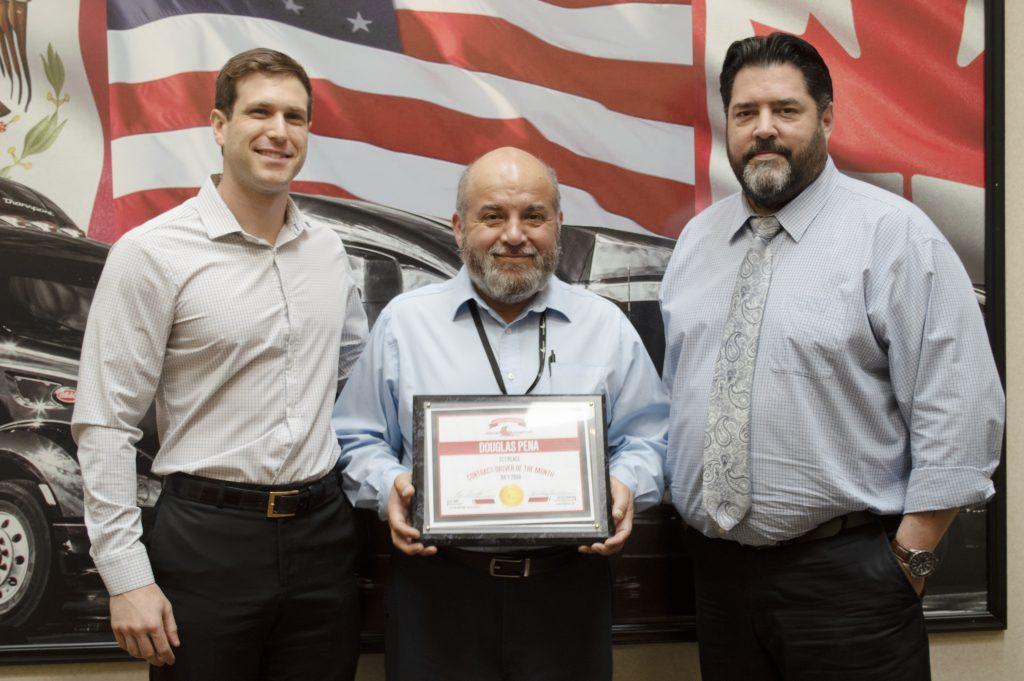 Photo of Douglas Pena - 1st Place Contract Driver.