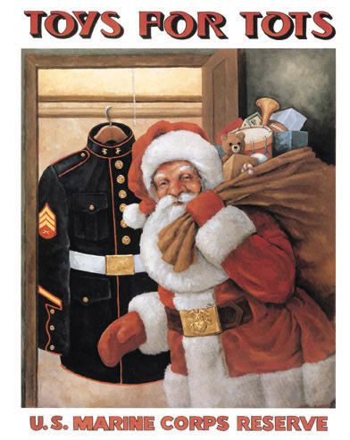 image of Toys for Tots official poster