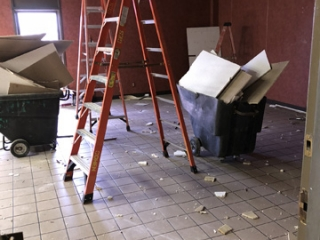 Driver Lounge Demolished Area 2