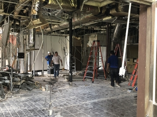 Driver Lounge Renovation Work 3