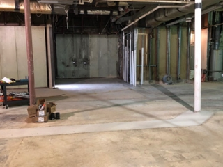 Image of Driver Lounge Demolition Completed