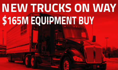 $165M New Truck Purchase