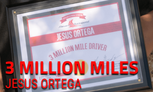 image of 3 million mile safe driver award