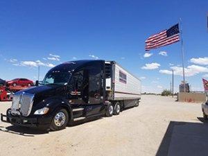 Tony Taylor's Stevens Transport Truck
