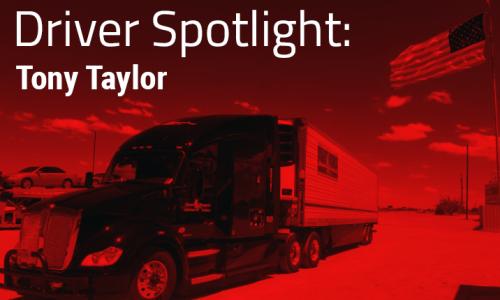 Driver Spotlight:Tony Taylor