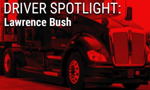 image of Lawrence Bush driver spotlight