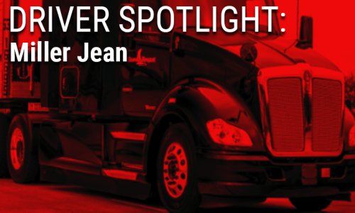Image of Miller Jean's Driver Spotlight