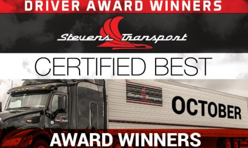October Driver Awards Banner
