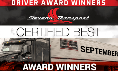 image of September Driver Awards banner