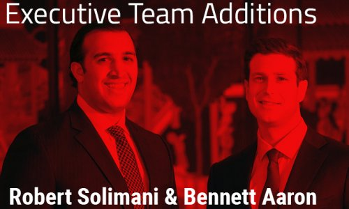 Newest Stevens Executive Team Members - Solimani & Aaron