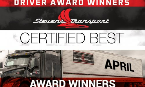 Image of Driver Award Winners Banner for April