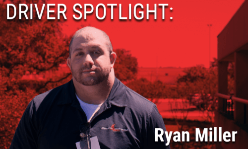 Image of Driver Spotlight driver Ryan Miller