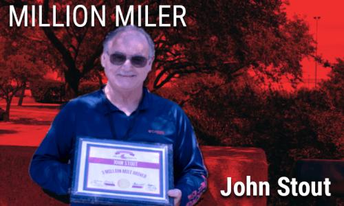 Image of 3 Million Mile driver John Stout