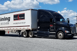 photo of Stevens Transport truck at Georgia Driving Academy