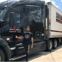 Image of trucker Ali Al Rushidat