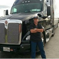 Image of Stevens' driver Ron Hoffman