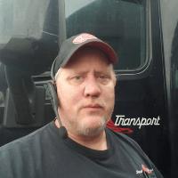 Image of Bob Lockrey, truck driver for Stevens Transport