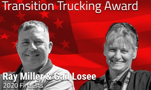 image of Transition Trucking Award Finalists Ray Miller & Gail Losee