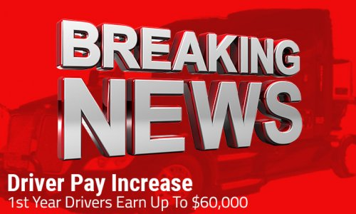 image of Driver Pay Increase News