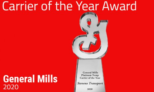 image of 2020 General Mills' Carrier of the Year award