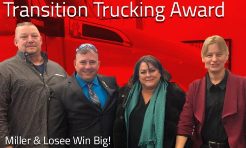 image of Transition Trucking Award Attendees