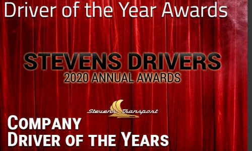 image of Driver of the Year awards banner